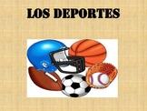 Spanish Deportes PPT, Juegos yTarea