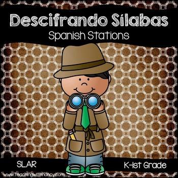 Spanish: Descifrando silabas y armando palabras