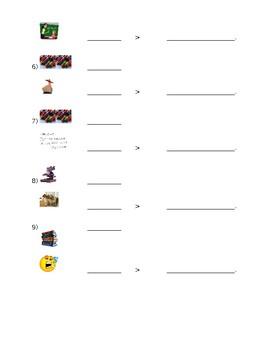 Spanish Describing Classes/Objects Practice #2