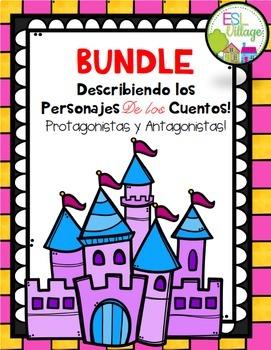In Spanish / Describing Fairy Tales Characters {BUNDLE}