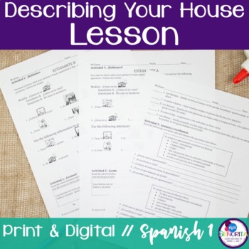 Spanish Describing Your House Lesson