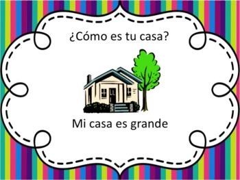 Spanish Describing your House Powerpoint