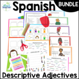 Spanish Descriptive Adjective Lesson Bundle