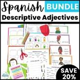 Spanish Descriptive Adjective Lesson Bundle