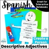 Spanish Descriptive Adjectives Create a Person Activity