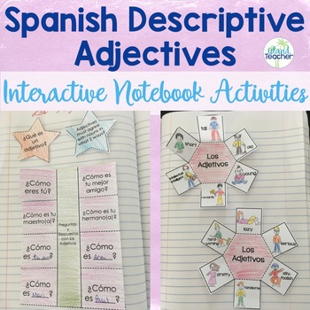 Spanish Descriptive Adjecti... by Island Teacher | Teachers Pay ...