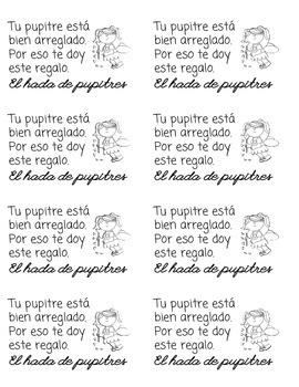 Desk Fairy Note (Spanish)