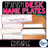 Spanish Desk Name Plates