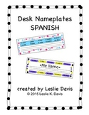 Spanish Desk Nameplates