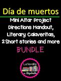 Spanish Día de Muertos - Day of Dead Mini Altar Project, C