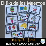 Día de los Muertos Day of the Dead Posters or Word Wall