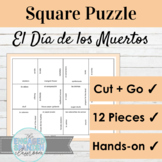 Spanish Día de los Muertos Day of the Dead Vocabulary Puzzle