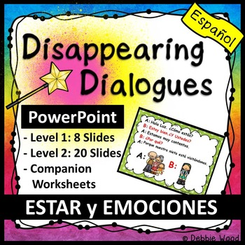Spanish Adjectives with Estar (Formal and Familiar) PowerPoint