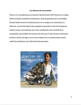 Spanish: Diarios de Motocicleta (Motorcycle Diaries) - Movie Guide