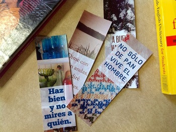 Spanish Dichos Bookmarks : Proverbs, Sayings, Printable Bookmark Incentive