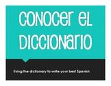 Spanish Dictionary Activity
