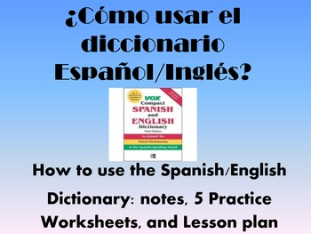 Spanish Dictionary Practice