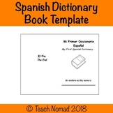 Spanish Dictionary Template