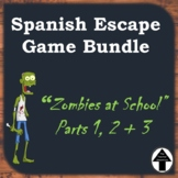 Spanish Digital Escape Room Select Your Own Adventure Game