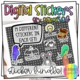 Bilingual Digital Sticker BUNDLE | Use in Seesaw™ or Googl