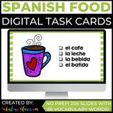 Spanish Digital Task Cards Comida Así Se Dice Chapter 4 |