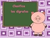 Spanish Digraph Sort - Clasifica los dígrafos