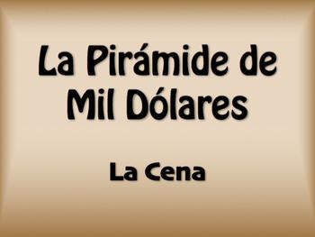 Spanish Dinner $1000 Pyramid Game