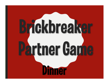 Spanish Dinner Brickbreaker Game