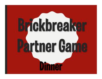 Spanish Dinner Brickbreaker Game