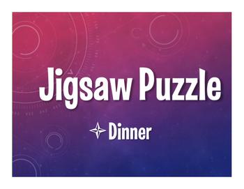 Spanish Dinner Jigsaw Puzzle