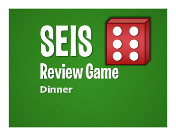 Spanish Dinner Seis Review Game