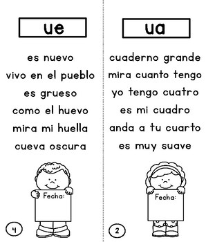Spanish Diphthongs Booklet