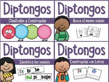 Spanish Diphthongs {Diptongos en Español} ~ The Bundle