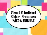 Spanish Direct & Indirect Object Pronouns MEGA BUNDLE with GAMES and more