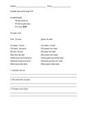 Spanish Direct Object Pronoun Worksheet