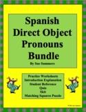 Spanish Direct Object Pronouns Bundle - Practice, Skit, Quiz & More