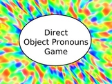Spanish Direct Object Pronouns Game - PowerPoint Version