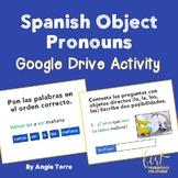 Spanish Direct Object Pronouns Google Drive Activity Dista