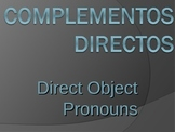 Spanish Direct Object Pronouns Lesson