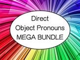 Spanish Direct Object Pronouns MEGA BUNDLE - Games, Slideshow, & Worksheets Pack