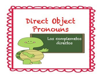 Spanish Direct Object Pronouns Presentation