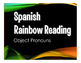 Spanish Direct and Indirect Object Pronoun Stations