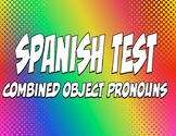 Spanish Direct and Indirect Object Pronoun Test