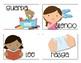 Spanish Direction Cards - Tarjetas de instrucciones en esp