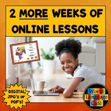 Spanish Distance Learning, 2 More Weeks of Online Lesson P