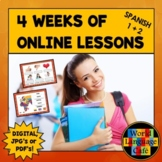 Spanish Distance Learning, 4 Weeks of Spanish Online Lesso