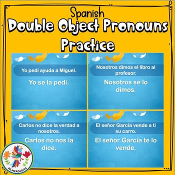 Spanish Double Object Pronoun Practice