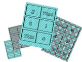 Spanish Domino game 1-15 numbers