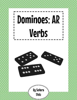 Spanish Dominoes: AR Verbs