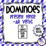 Spanish Dominoes - AR Verbs {HARD GOOD}